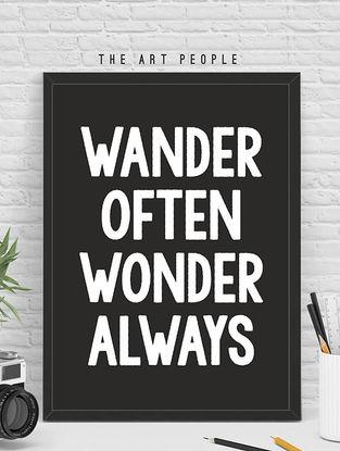 Wooden Framed Poster - 12.6in x 8.66in x 0.39in