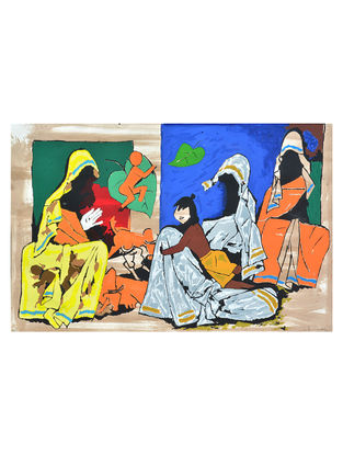 Mother Teresa Series 43in x 58in x 1.5in with Certificate