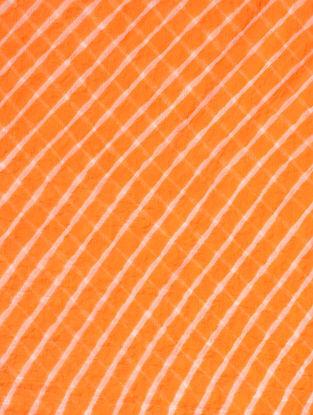 Orange Leheriya Chiffon Dupatta