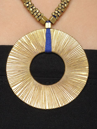 Classic Brass Necklace