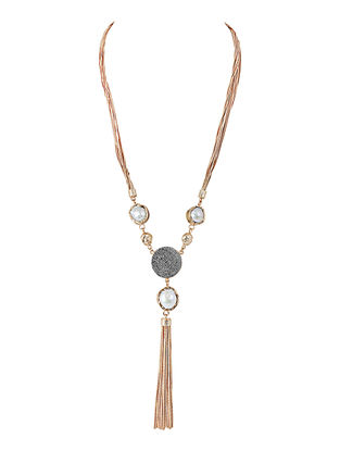 Baroque Pearls Gold-plated Brass Necklace
