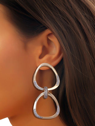 Orion Gold Tone Double Hoop Earrings
