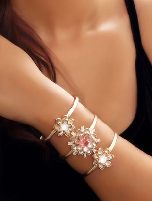 Rose Asteri Trio Cuff