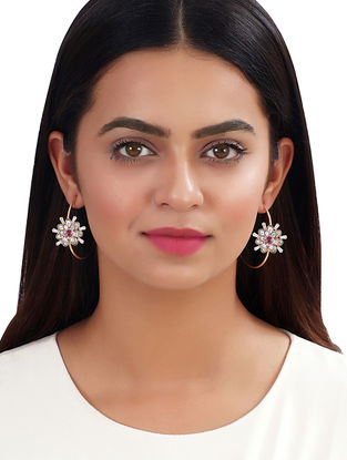 Rose Asteri Hoops