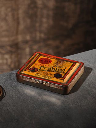Vintage Iron Boxes (4.2in x 4.5in)