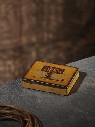 Vintage Iron Boxes (2.7in x 3.3in)