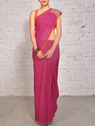 Buy Summer Romance Handwoven Cotton and Linen Sarees from ...