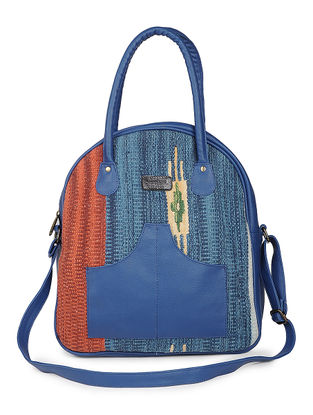 Blue-Red Wool Kilim Bag