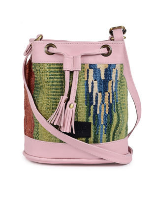 Multicolor Wool Kilim Sling Bag
