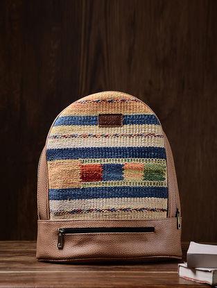 Multicolor Wool Kilim Back Pack