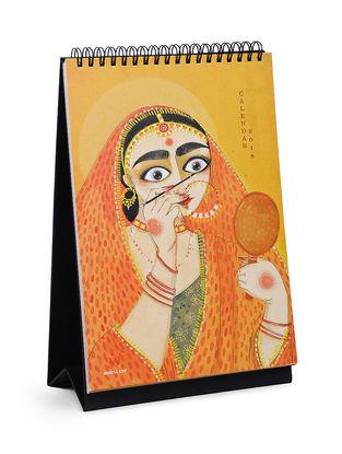 Bhuli's Limited Edition Calendar 2018 (L:11in, W:6.7in, H:0.7in)
