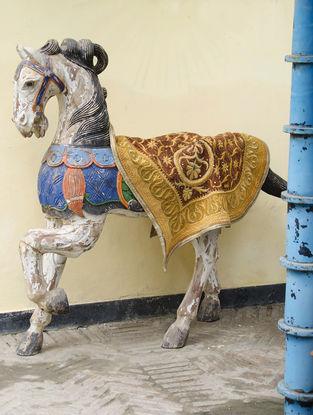 Limited Edition Wall Hanging plus horse Saddle piece by Bina Ramani