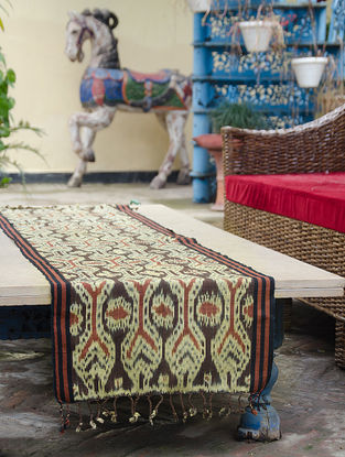 Limited Edition Indonesian Ikat table Runner plus decorative textile