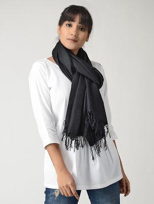 Black Silk Pashmina Stole