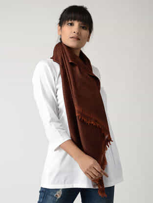 Brown Pashmina Stole