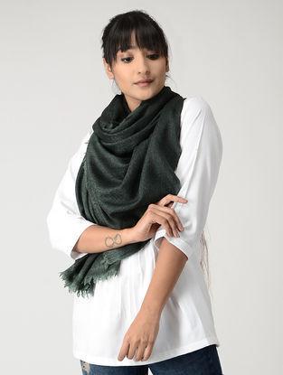 Green-Black Pashmina Stole