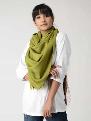 Green Woolen Stole