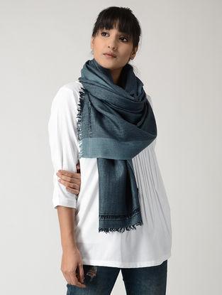 Blue-Black Woolen Stole