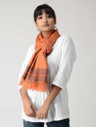 Orange-Red Woolen Stole