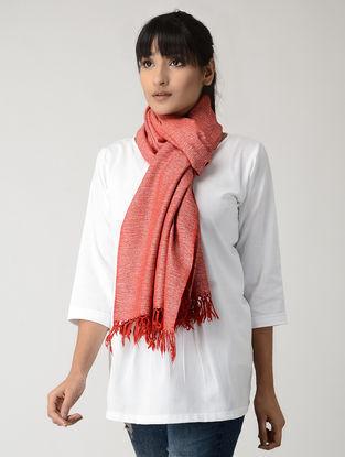 Red Silk Woolen Stole