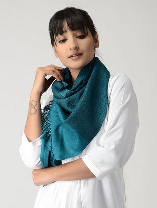 Blue-Black Woolen Muffler