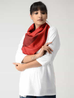 Red Woolen Muffler