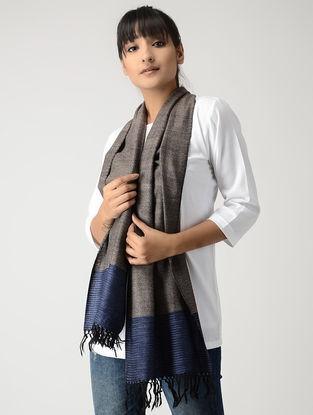 Grey-Blue Woolen Muffler