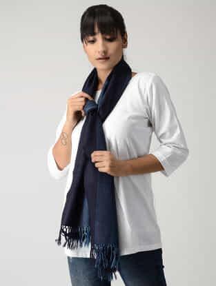 Blue Woolen Muffler