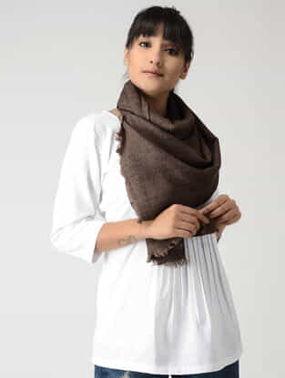 Brown Woolen Muffler