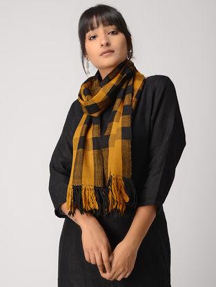 Yellow-Black Woolen Muffler