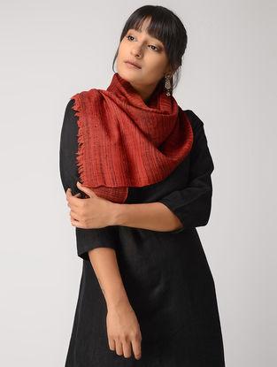 Red Yak Wool Muffler