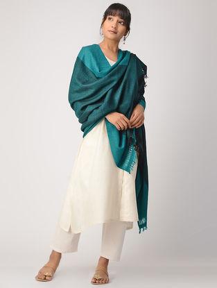 Turquoise Woolen Shawl