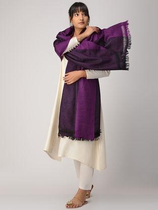 Purple Woolen Shawl
