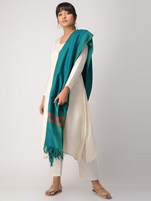 Blue-Green Woolen Shawl