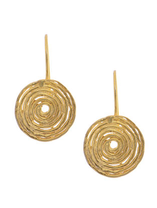 Classic Gold-plated Silver Earrings