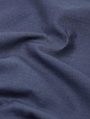 Blue Cotton Khadi Fabric