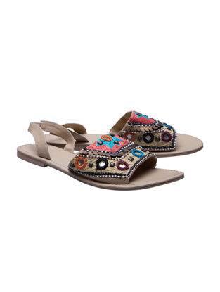 Multicolored Handcrafted Leather Sandals