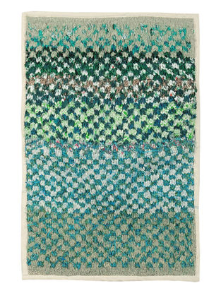 Recycled Rectangle Rug-Small 32in x 22in