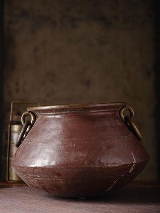 Vintage Brass Chapati Dom (L:13in, W:13in, H:9.2in)
