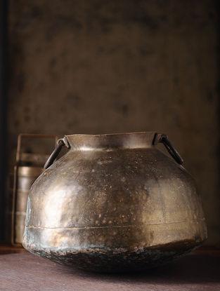 Vintage Brass Chapati Dom (L:13in, W:13in, H:9.5in)