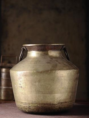 Vintage Brass Chapati Dom (L:11.5in, W:11.5in, H:11in)