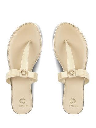 Cream Handcrafted Flats