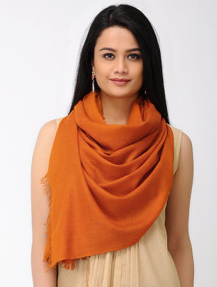 Orange Pashmina Stole