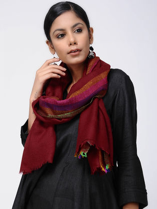 Red-Pink Pashmina Stole