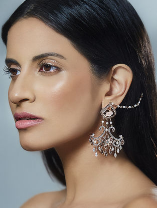 Confluence Crystals from Swarovski Suneet Varma Chandelier Earrings