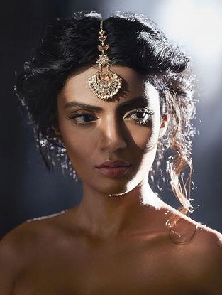 Confluence Crystals from Swarovski Suneet Varma Navratna Maang Tikka