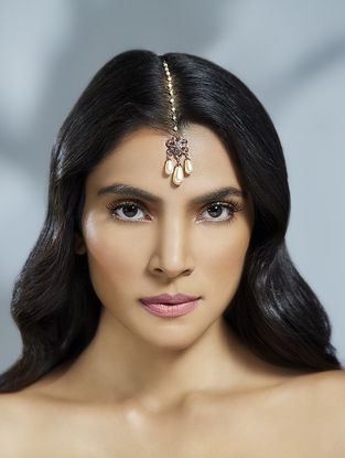 Confluence Crystals from Swarovski Suneet Varma Bloom Maang Tikka