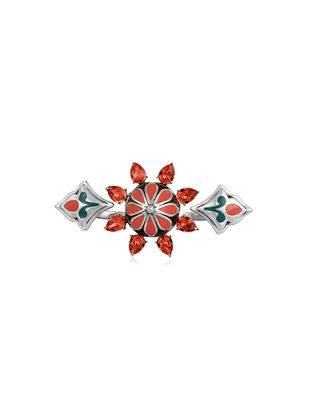Confluence Crystals from Swarovski Amrapali Mughal Garden Flower Ring