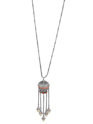 Confluence Crystals from Swarovski Amrapali Mughal Garden Dangling Necklace