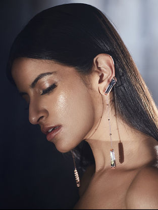 Confluence Crystals from Swarovski Outhouse Damselfly Earrings